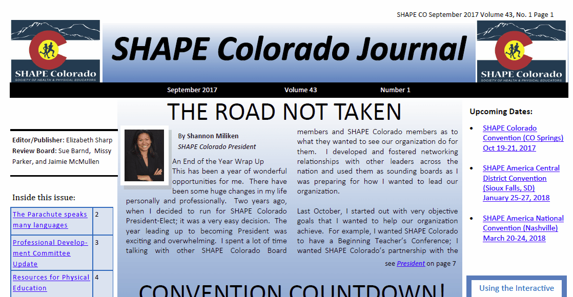 SHAPECO Journal September 2017