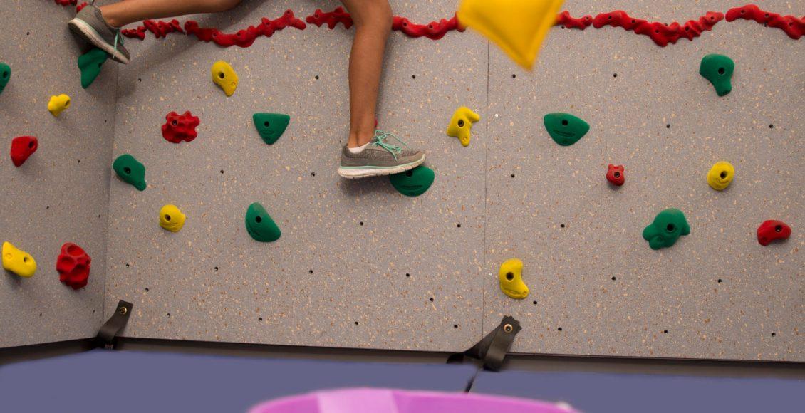 Climbing-Wall-Target-Practice