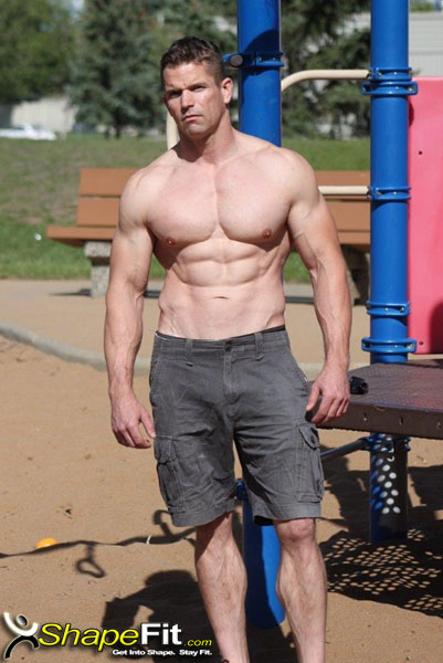 Dallas Shepherdson Male Fitness Model Interview And Photos