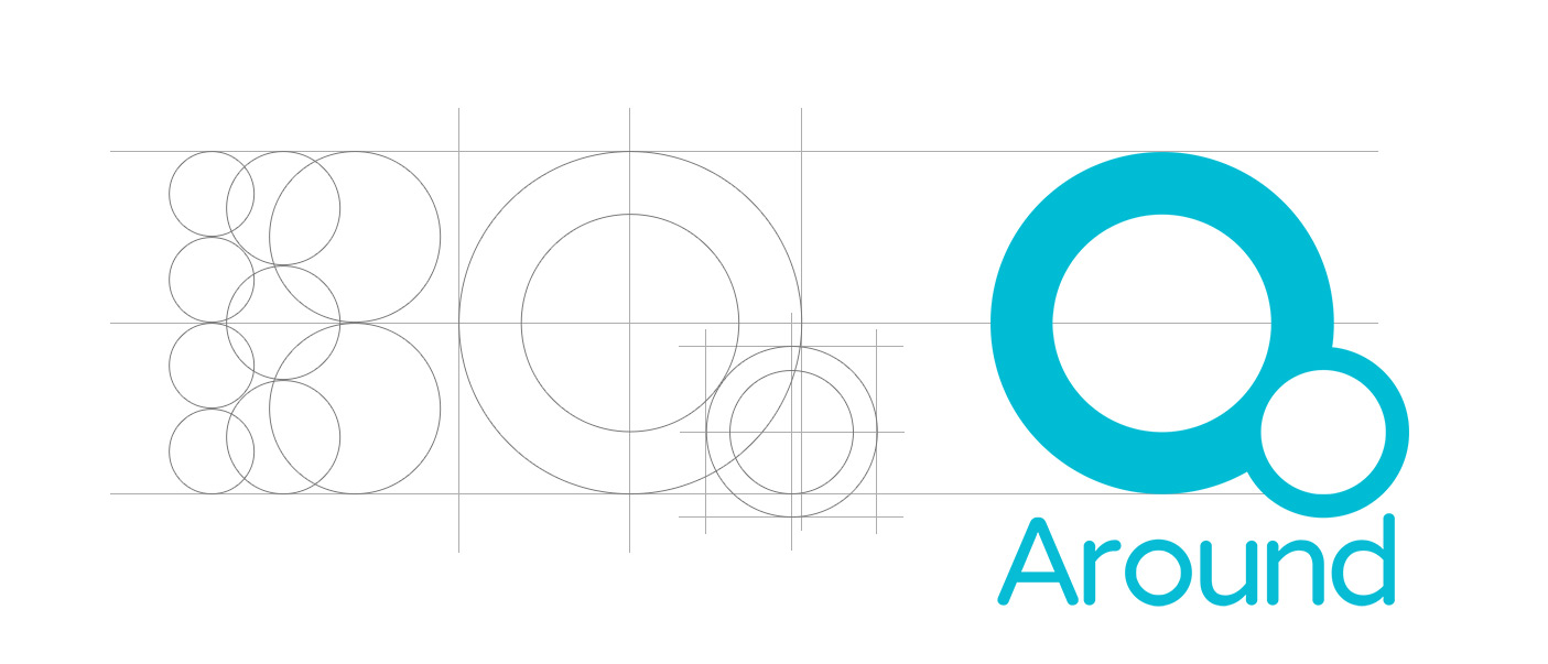 around-logo-grid