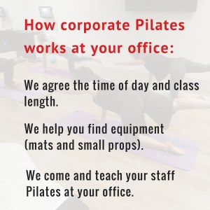 People doing Pilates on the mat
