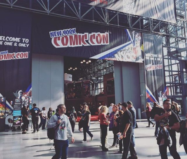 Second Only To The Granddaddy Of Them All San Diego Comic Con New York Comic Con Is An Event That Sprawls Across What Feels Like Every Inch Of Midtown