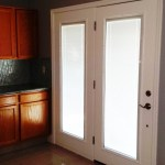 Modification Of Pre Hung Double French Door With Mini Blinds