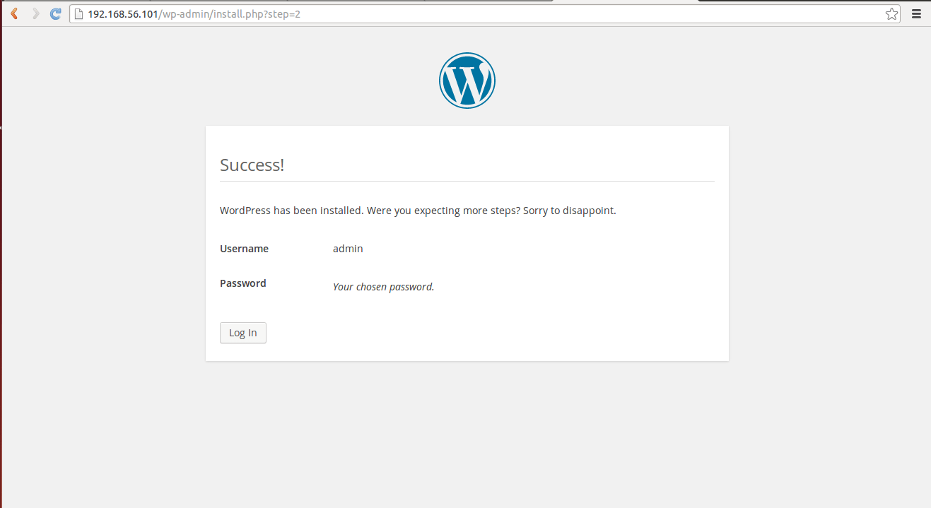 Install wordpress Ubuntu 14.04