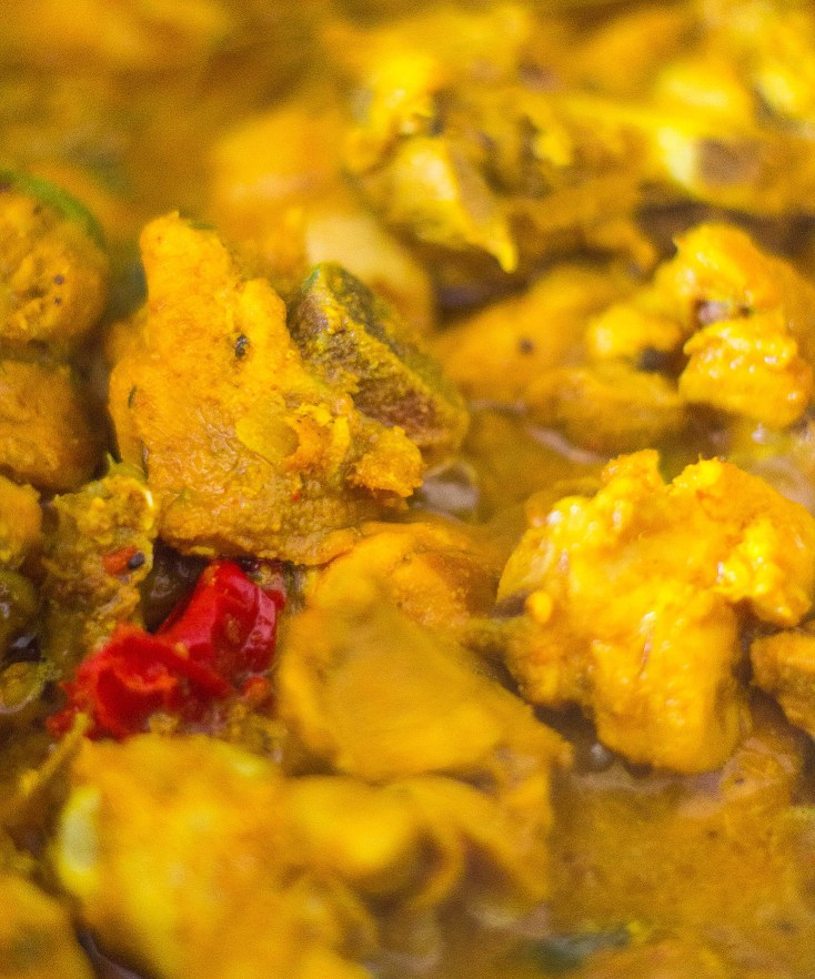 Jamaican Curried Chicken