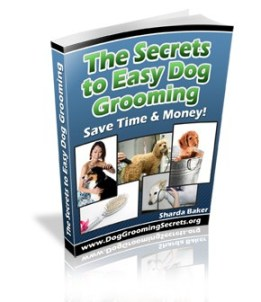 secrets to easy dog grooming