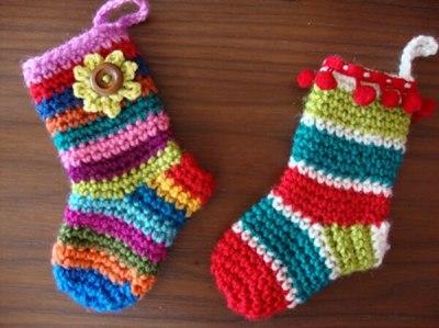 Little Christmas socks