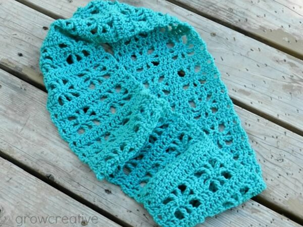 Cube Infinity Scarf Pattern