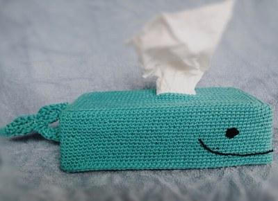 Get Whale Soon Tissue Box Cover