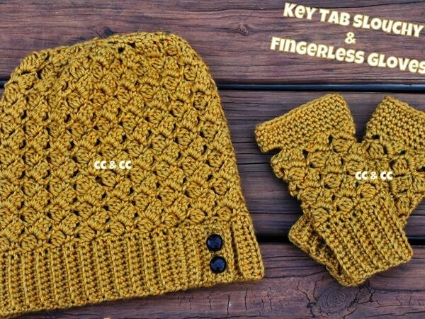 Key Tab Fingerless Gloves