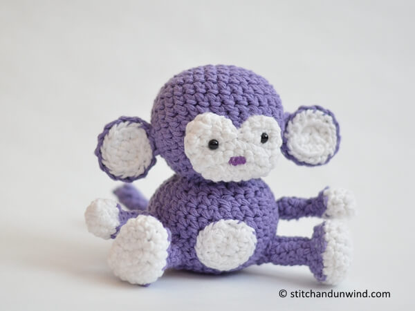 Penelope the Purple Monkey