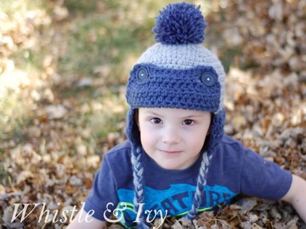 Toddler Eskimo Hat
