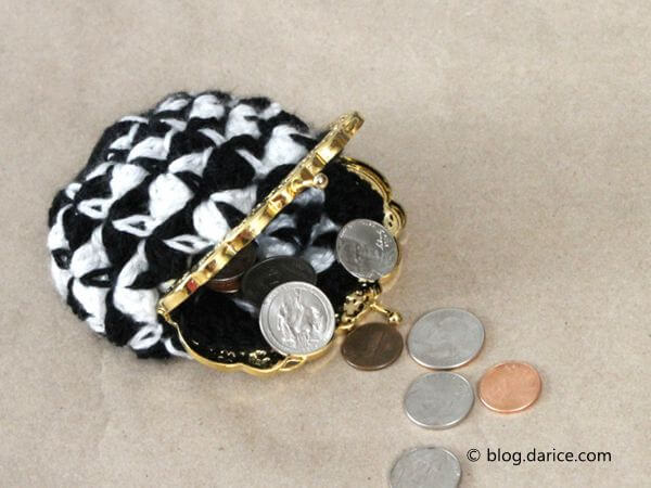 Crochet Coin Purse Tutorial