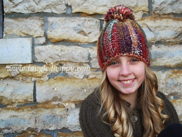 Color Wool Beanie