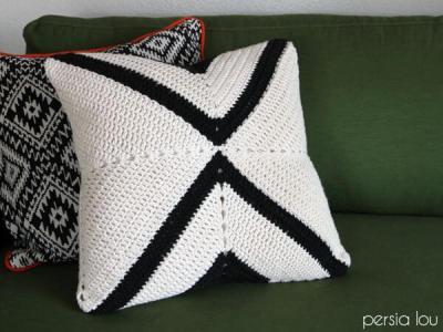 Crochet X Pillow Pattern