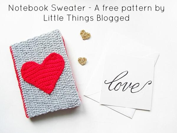Valentines Notebook Sweater