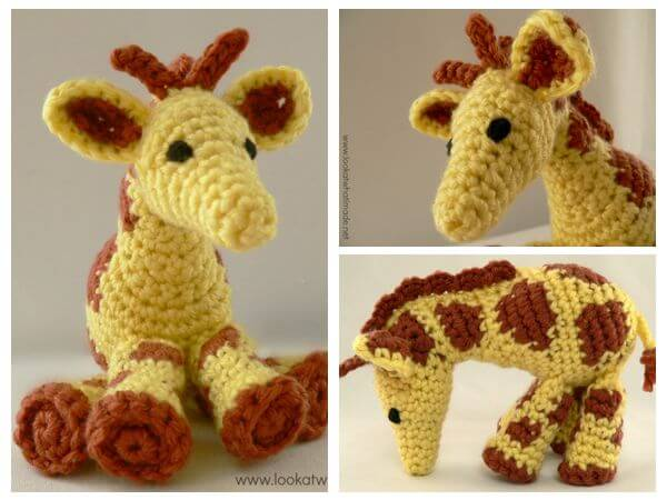 Gendry the Crochet Giraffe