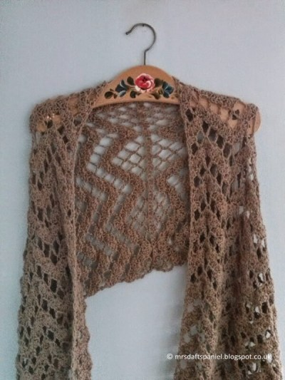 Crocheted Alpaca Wrap