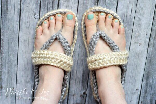 Women's Strap Flip-Flops Summer Slippers