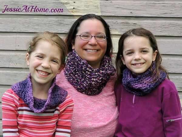 Mommy and Me Infinite Twilight Cowls