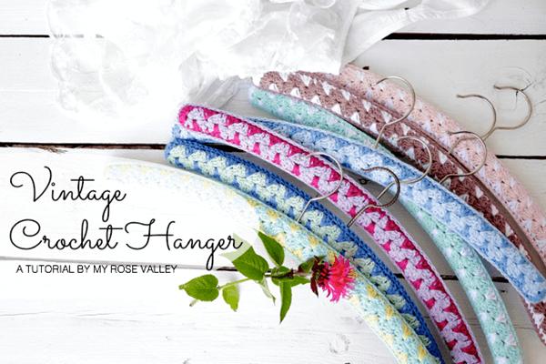 Vintage Crochet Hanger