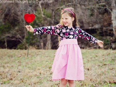 Girl's Twirly T-Shirt Dress