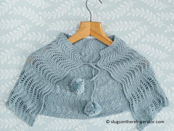 Iced Gem Crochet Wrap