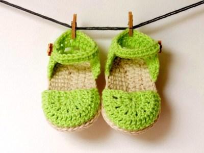 Green Love Sandals