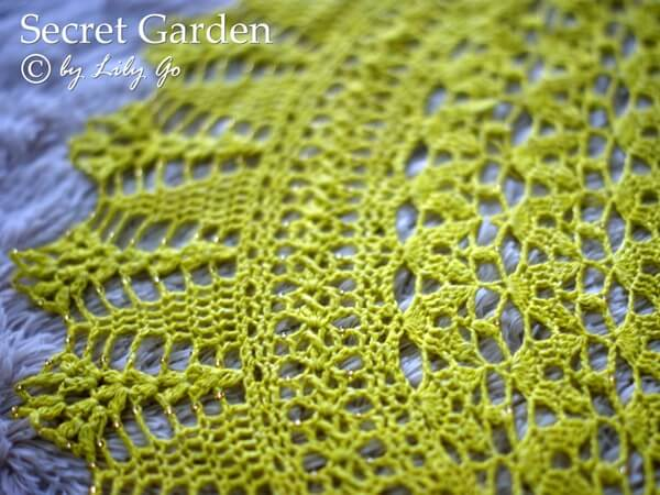 The Secret Garden Crocheted Shawl