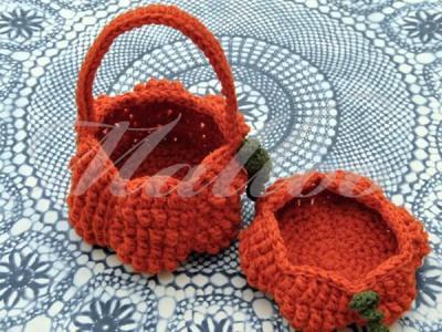 Halloween Pumpkin Basket
