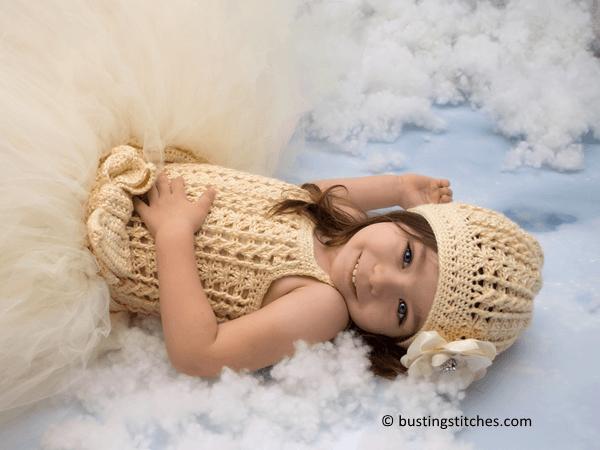 Winter Princess Dress and Hat Pattern
