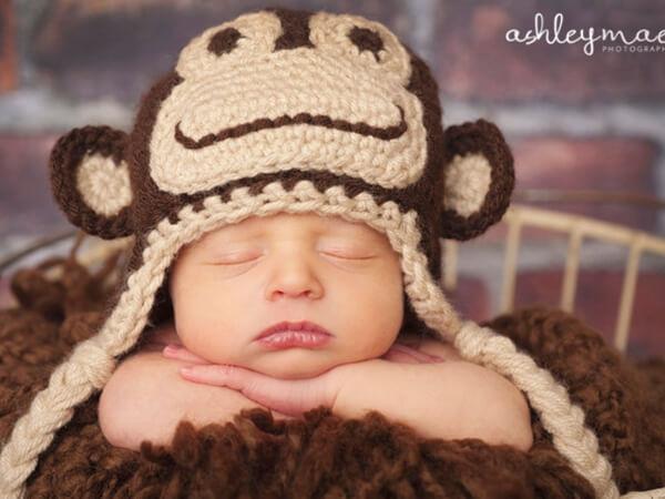 Marvin the Monkey Hat Pattern