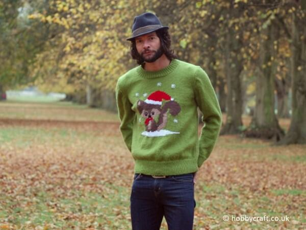 Squirrel Christmas Jumper