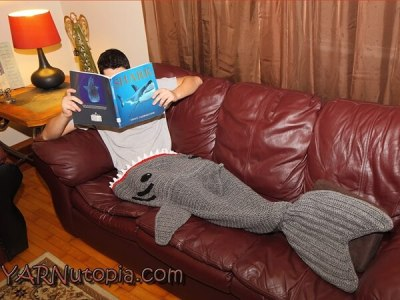Adult Shark Blanket