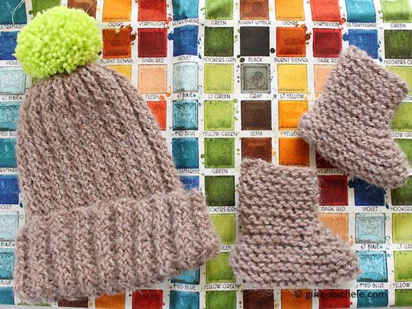 Gift Set- Hat & Booties