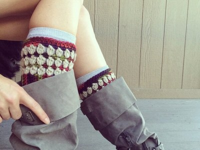 Sneak-a-Peek Boot Cuffs