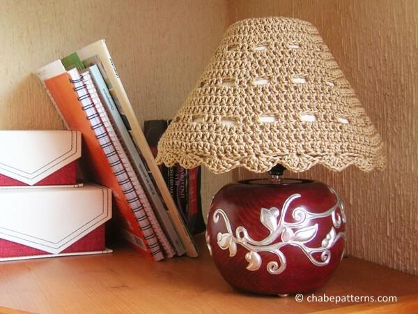 Lampshade cozy
