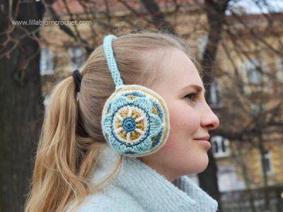 Floral Ear Muffs