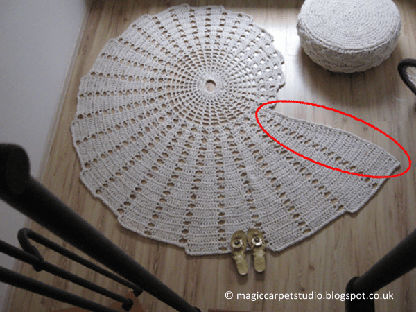Seashell Carpet Rug