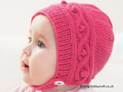 Free Knitted Cable Bonnet Pattern