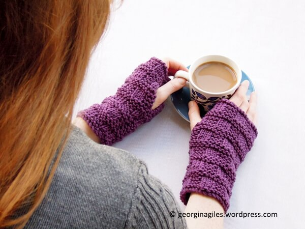 Knitted Handwarmers