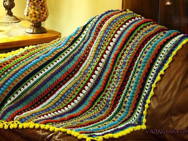 Color Pop Baby Blanket