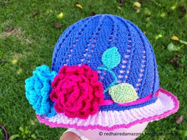 Little Girls Cloche Hat