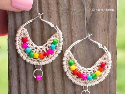 Boho Bead Earrings