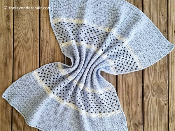 The Derek Baby Blanket