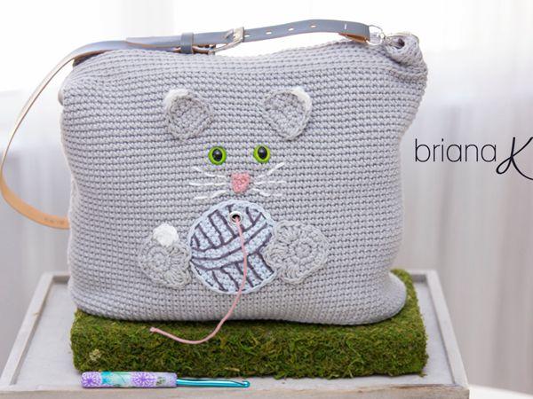 Cat Yarn Crafter Bag