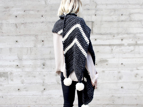 COLUMBIA CHEVRON SUPER SCARF