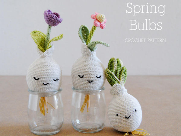 Spring Bulbs Amigurumi