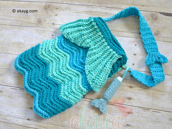 Mermaid Ripple Purse