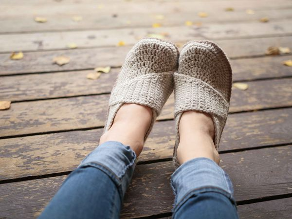 Adult Little Wrap Slippers